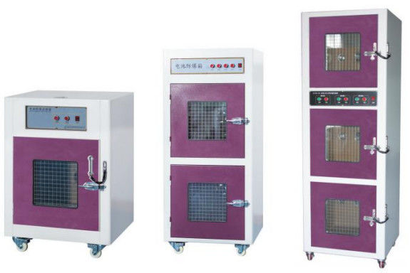 304 Stainless Steel Explosion Proof Test Chamber For Battery Safety Test Charge - Discharge