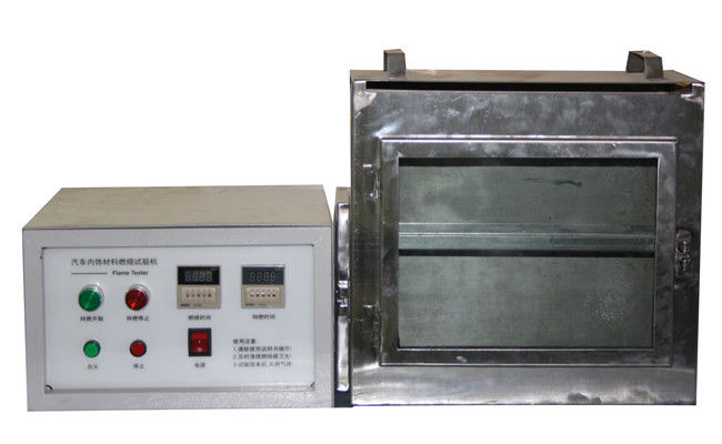 Combustion Resistance Leather Testing Equipment For Auto Upholstery Leather