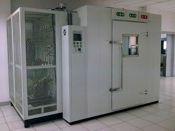 Box Dimension Custom-made Walk in Alternating High Low Temperature Humidity Test Chamber Environmental Test Chamber